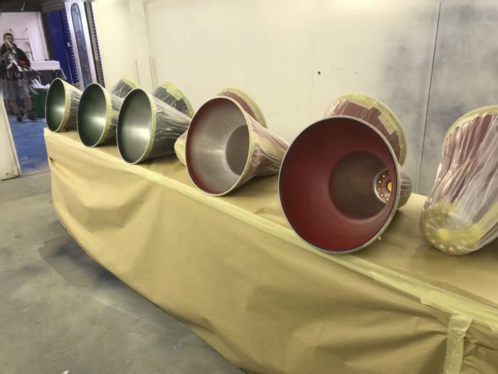 Powder coating and metal finishing